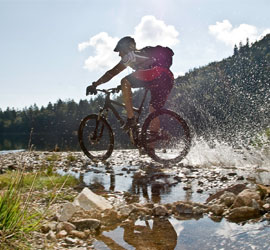 Mountainbike-Paradies Comer See